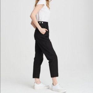 Wilson Pant in Washed Black
